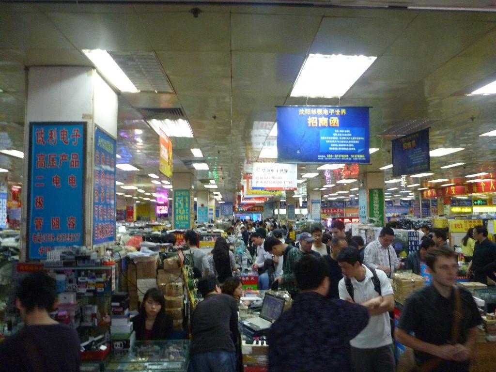 Shenzhen Electronic Market 187 An Engineer In Shenzhen