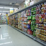 The aisle of awesome.